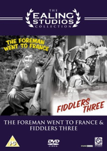Clifford Evans, Tommy Trinder-Foreman Went to France/Fiddlers Three DVD NEW