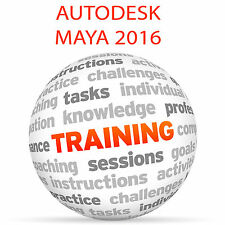 Autodesk Maya 2016-Video Tutorial DVD de entrenamiento
