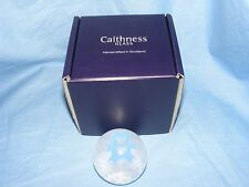 Caithness Glass Paperweight New Baby Boy Teddy Bear Gift Christening Present