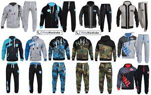 HNL Mens Tracksuit Joggers Hoodie Sweatshirt Pants Sweats Bottoms Plus All Sizes