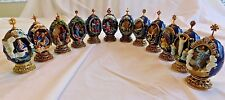 House of Faberge The Life of Christ - 12 Collectible Eggs