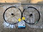 "Shimano Deore XT WH-M765 MTB Wheel Set 26"" Centerlock 9mmQR 100mm Disc Tubeless"