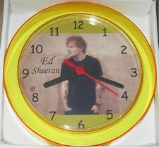 ED SHEERAN Novelty Wall Clock 7 Inch BRAND NEW **L@@K**