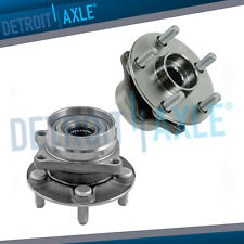 2 Front Driver and Passenger Wheel Hub & Bearing Assembly for 04-08 Toyota Prius