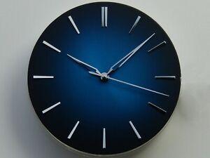 Cadran + Aiguilles FUME Sunray BLUE NH35 SEIKO watch dial 37mm Zifferblatt