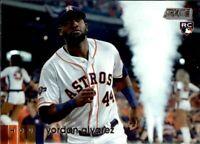 2020 Topps Stadium Club YORDAN ALVAREZ Base Rookie Card #69 Astros RC