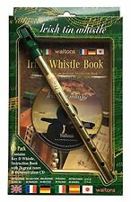 Easy to Learn Irish Tin Key of D Whistle CD Pack w/ Booklet Great Gift Item