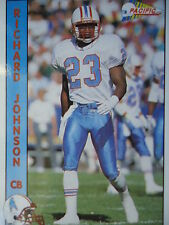 NFL 434 Richard Johnson CB Cornerback Pacific 1992