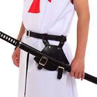Medieval Cosplay Black Brown Rapier Frog Holster Lace Up Holder Belt With Belt
