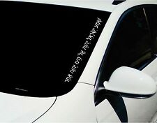 Car Decals. Wall Decal. Laptop Decal... Shema Yisrael