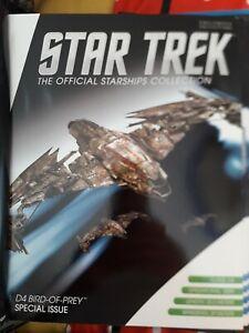 Eaglemoss Star Trek - Special Edition Klingon D4 Bird of Prey
