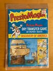 Vintage Presto Magix Discovery Of America Dry Transfer Game Paper Mate NOS 1978