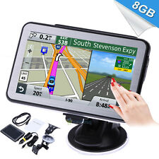 "5"" 8GB HD Screen Car GPS Navigation Navigator SAT NAV Free Europe Maps Updates"