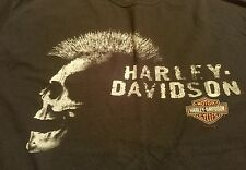 2007 Harley Davidson BARNETT'S Las Cruces New Mexico SKULL MOHAWK Shirt XL
