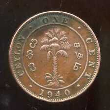 CEYLAN  1 cent 1940