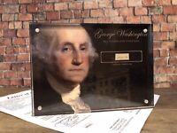 GEORGE WASHINGTON 1797 SIGNED HANDWRITTEN WORD JSA LOA AUTHENTIC HISTORY GIFT
