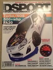 Dsport Import Performance + Tech Magazine April 2014