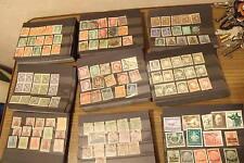 150 bzw 100 + 50 Briefmarken Deutsches Reich Gebiete  Steckkarten