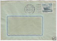 Bedarfsbrief, Berlin West, Michel 126 EF, o (1) Berlin SW 11, 28.3.55