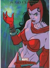 Marvel Masterpieces 2007 Base Card #72 Scarlet Witch