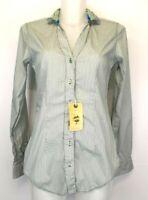 S21) Luxus Designer Lucky de Luca Damen Bluse Hemd SHEILA Gr. S 36 Neu 129€