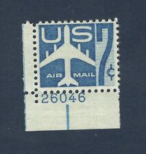 C51Silhouette Of Jet Singles W/Plate Number Mint/nh (Free shipping offer)