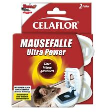 Celaflor Mausefalle Ultra Power - 2 Stück - Tomcat Falle Maus Mäusefalle