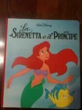 La sirenetta e il principe walt disney - anno 1990 rarità
