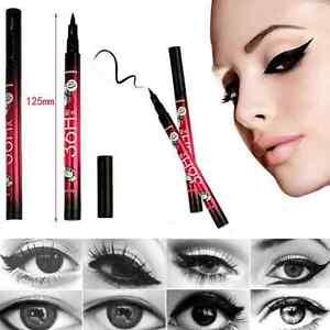 Women Black Liquid Eyeliner Pen Eye Liner Pencil Waterproof Makeup Cosmetic