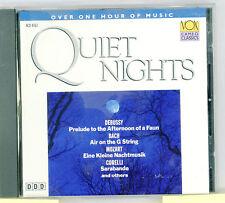 """Quiet Nights""   VOX Cameo Classics 1993  Mozart Bach Etc"