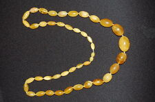 Amber Necklace Real Amber, Length 82cm, 64,67g Very Good Condition