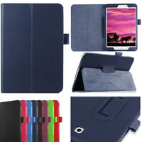 """7"""" 8"""" 10.1""""  Folio PU Leather Case Cover Stand For Samsung Galaxy Tab 3 4 Lite"""