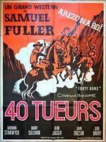 Plakat Kino Original Western 40 Killers Samuel Fuller Forty Guns 120 X 160 CM