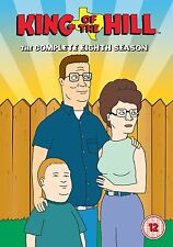 King Of The Hill: The Complete Season 8 - DVD NEW & SEALED (3 Discs) UK Edition!