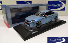 Original bmw miniatura 2002 turbo homenaje Collection 1:18 coche modelo concept car