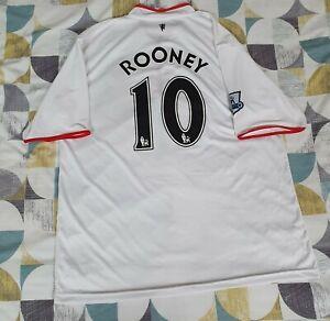 Manchester United Shirt Wayne Rooney XXL