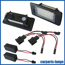 LED SET VW AUDI SEAT SKODA Kennzeichenbeleuchtung Kennzeichen Leuchte - TÜV FREI