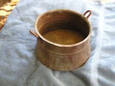 Antique Primitive Copper Hand Made Bowl