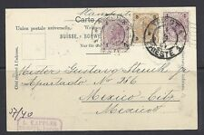 AUSTRIA 1904 postcard to Mexico with TRIEST cancel *excellent condition*