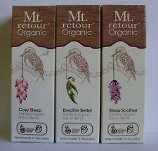 Mt Retour Essential Oil Buy the SET x 3 and Save BREATHE SLEEP STRESS Lavender