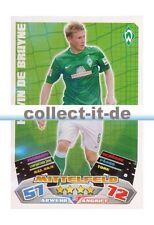 Match Attax 12/13 - 382 - KEVIN DE BRUYNE - SC Werder Bremen