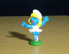 Smurfette Ballerina Smurfs Figure Vintage Smurf Toy Peyo Am Limes Re-issue 20098