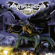 ASTRALION - Outlaw CD 2016 original signed by the band Power Metal Olympos Mons