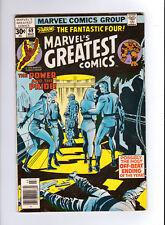 Marvel's Greatest Comics #69 (Mar 1977, Marvel) FN/VF, Fantastic Four
