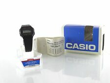 Casio Vintage Rare F-30 Original Mens Watch Digital F30 Resin Black Bnad