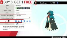 ✨ Shiny Decidueye ✨ Pokemon Sword and Shield Perfect IV🚀Fast Delivery🚀