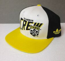 25e38d8b8d065 YOUTH KIDS  fits small adult too  ADIDAS COLUMBUS CREW SNAPBACK HAT boy girl