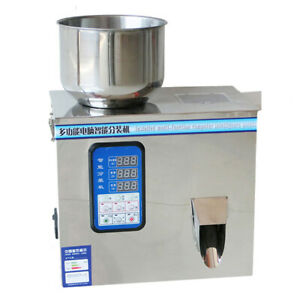 2-99g Powder Granules Weighting Filling Packing Machine For Granule Filling