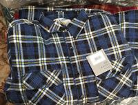 Shirt Mens Padded Lumberjack  Work Jacket Quilted  GC McArthur Champion McArthur