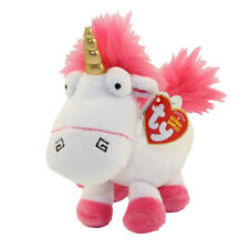 """TY 6"""" Beanie Baby Plush Toy Stuffed Animal - FLUFFY (Unicorn) (Despicable Me 3)"""